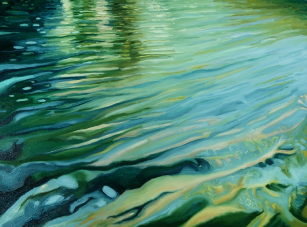 Faith Like Flowing Water : Shimmering & Serene